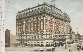 絵葉書:Hotel Astor, New York.