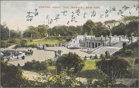 絵葉書:Central Park,