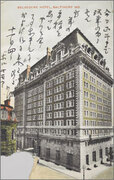 絵葉書:Belvedere Hotel, Baltimore Md.