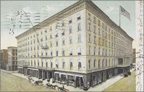 絵葉書:Southern Hotel, St. Louis.
